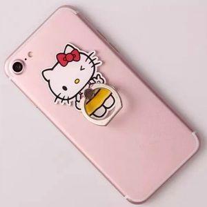 NWT Hello Kitty Phone Ring | Rotates 360°